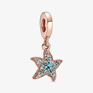 Pandora Sparkling Starfish Dangle Charm